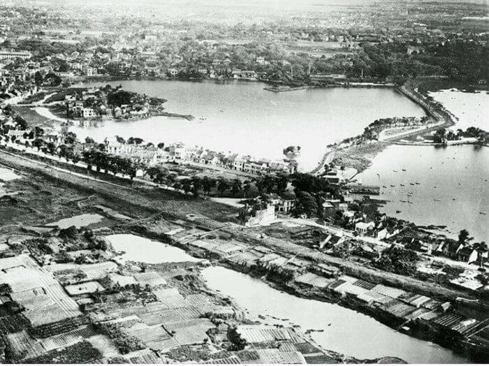 Về lịch sử của Hồ Tây